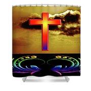 Divine Intervention Shower Curtain
