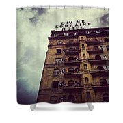 Divine Shower Curtain by Katie Cupcakes
