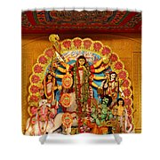 Divinity No.8926 Shower Curtain by Fotosas Photography