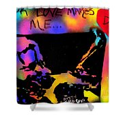 Dizzy 4 Your Love Shower Curtain