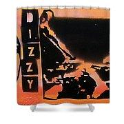 Dizzyness Shower Curtain