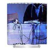 Dj Peter Pan In Bethlehem Shower Curtain