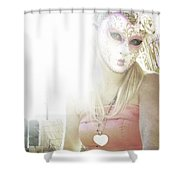 Mschronicchronicles Sunshine Lady Shower Curtain