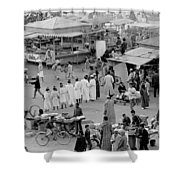 Djemaa El Fna Marrakech Morocco Shower Curtain
