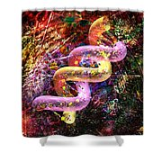 Dna Dreaming 5 Shower Curtain