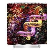 Dna Dreaming 6 Shower Curtain
