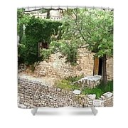 Do-00486 Old House From Citadel Shower Curtain