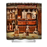 Doctor - The Medicine Cabinet Shower Curtain