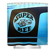 Dodge Charge Super Bee Logo  Shower Curtain
