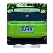Dodge Charger Hemi 9 Shower Curtain