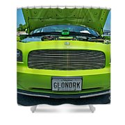 Dodge Charger Hemi  Shower Curtain
