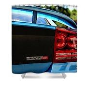 Dodge Charger Srt8 Rear Shower Curtain
