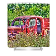 Dodge Pickup Truck Shower Curtain