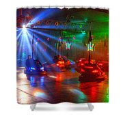 Dodgems Shower Curtain