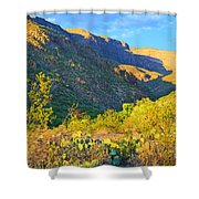 Dog Canyon Nm Oliver Lee Memorial State Park Shower Curtain