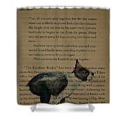 Dog Prayer Shower Curtain