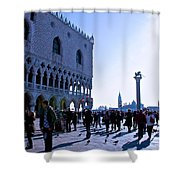 Doge's Palace Shower Curtain