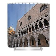 Doges Palace Off Piazza San Marco Or Shower Curtain
