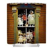 Dollhouse Gothic Shower Curtain