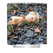 Dolly Shower Curtain