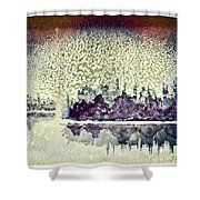 Dome Of Snow Shower Curtain