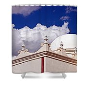 Dome Of The Mission San Xavier Shower Curtain