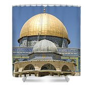 Dome Of The Rock Was Erected Shower Curtain