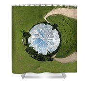 Dome Of The Sky Shower Curtain