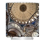 Domed Roof Of Rustem Pasa Mosque Shower Curtain