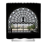 Dominus Flevit Church Mount Of Olives Shower Curtain