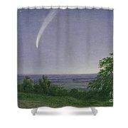 Donati's Comet - Oxford Shower Curtain