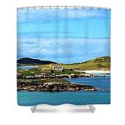 Donegal Coastline Near Bunbeg,co Shower Curtain