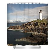 Donegal Lighthouse Shower Curtain