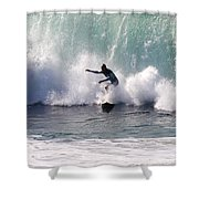Dont Look Back Shower Curtain