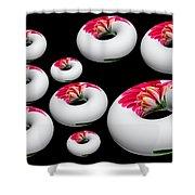 Donut Overload Shower Curtain