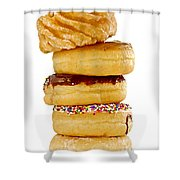 Donuts Shower Curtain
