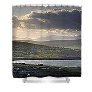 Dooagh, Achill Island, Co Mayo, Ireland Shower Curtain