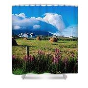 Dooega, Achill Island, County Mayo Shower Curtain