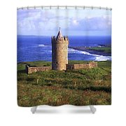 Doonagore Castle, Co Clare, Ireland Shower Curtain