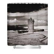 Doonagore Tower Shower Curtain