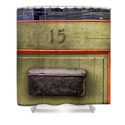 Door 15 Shower Curtain