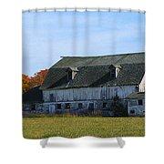 Door County Barn Shower Curtain