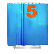 Door Five Shower Curtain