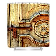 Door Study Taos New Mexico Shower Curtain
