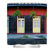 Doors And Shutters Shower Curtain