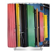Doors Of Colors Shower Curtain