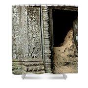 Doorway Ankor Wat Shower Curtain