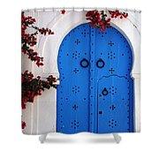 Doorway In Tunisia 1 Shower Curtain