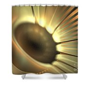 Doppler Beam Shower Curtain