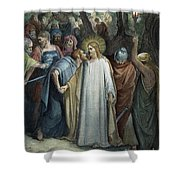 Dor�: Betrayal Of Christ Shower Curtain
